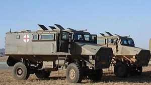 6 Medical Battalion Group - Mfezi Armoured Ambulance