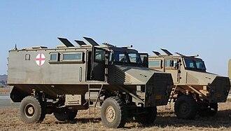6 Medical Battalion Group - Mfezi Armoured Ambulance