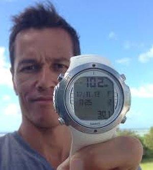 Michael Board - Michael Board British record holder In CWF Freediving At 102 m