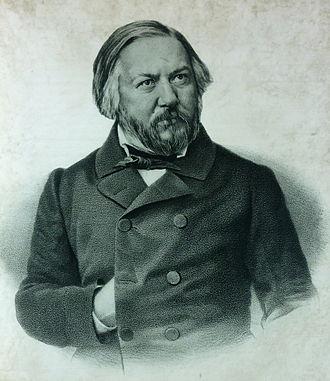 Mikhail Glinka - Glinka in 1856