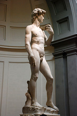 Michelangelo s david and