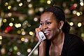 Michelle Obama on the telephone.jpg