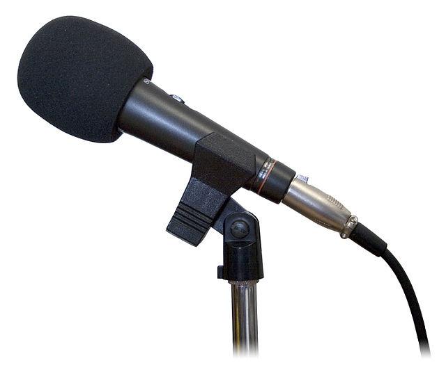 Microphone studio, From WikimediaPhotos