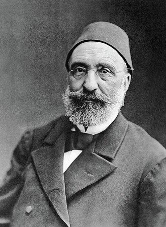 Midhat Pasha - Image: Midhat pasha by nader