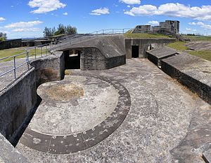 Mosman, New South Wales - A gun emplacement at Middle Head Fort
