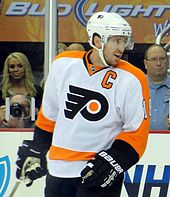 de849e1ec39ebe Mike Richards played for the Flyers from 2005–06 to 2010–11