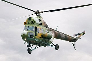 Mil Mi-2 light utility helicopter