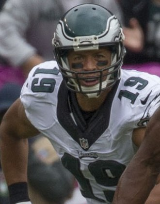 Monmouth University - Two-time Pro Bowler Miles Austin was the first Monmouth alumni in the National Football League.