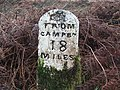 Milestone on the B842. - geograph.org.uk - 105467.jpg