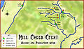 Mill Creek Chert production sites HRoe 2010.jpg