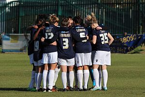 Millwall Lionesses L.F.C. - Millwall Lionesses team in February 2015