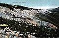 Mining operation with sluices on Cheechako Hill, Yukon Territory, circa 1898 (AL+CA 1318).jpg