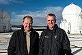 Minister Heubisch and ESO Director General Tim de Zeeuw (8872817925).jpg
