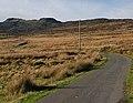 Minor road heading for Cefn Clawdd - geograph.org.uk - 1574541.jpg