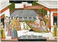 Mir Qasim, with a mistress, entertained by musicians and dancers.jpg