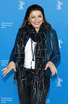 Mirjana Karanović Requiem for Mrs. J. Photo Call Berlinale 2017.jpg