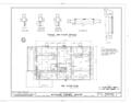 Mission Frame House, King and Kawaiahao Streets, Honolulu, Honolulu County, HI HABS HI,2-HONLU,19- (sheet 4 of 7).png