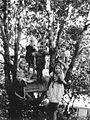 Missionary kids, Bihar, India, 1963 (16316294433).jpg