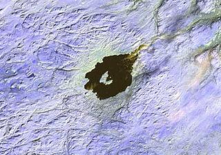 Mistastin crater lake