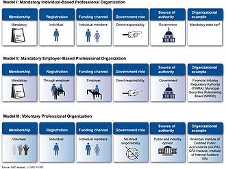 Professional employer organization - Models of Professional Organizations