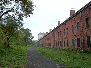 Modlin Fortress - Barracks within the Modlin Fortress.