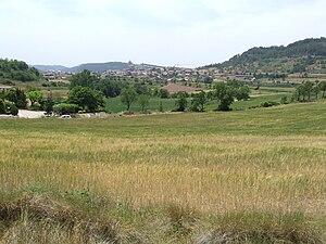 Moià - Image: Moià. La vila, des del nord est