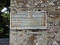 Moitron-sur-Sarthe (Sarthe) plaque de cocher (2).jpg