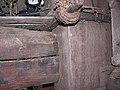Molen Tot Voordeel en Genoegen, standerd knuppelstrop boven kruisplaat.jpg