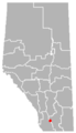 Monarch, Alberta Location.png