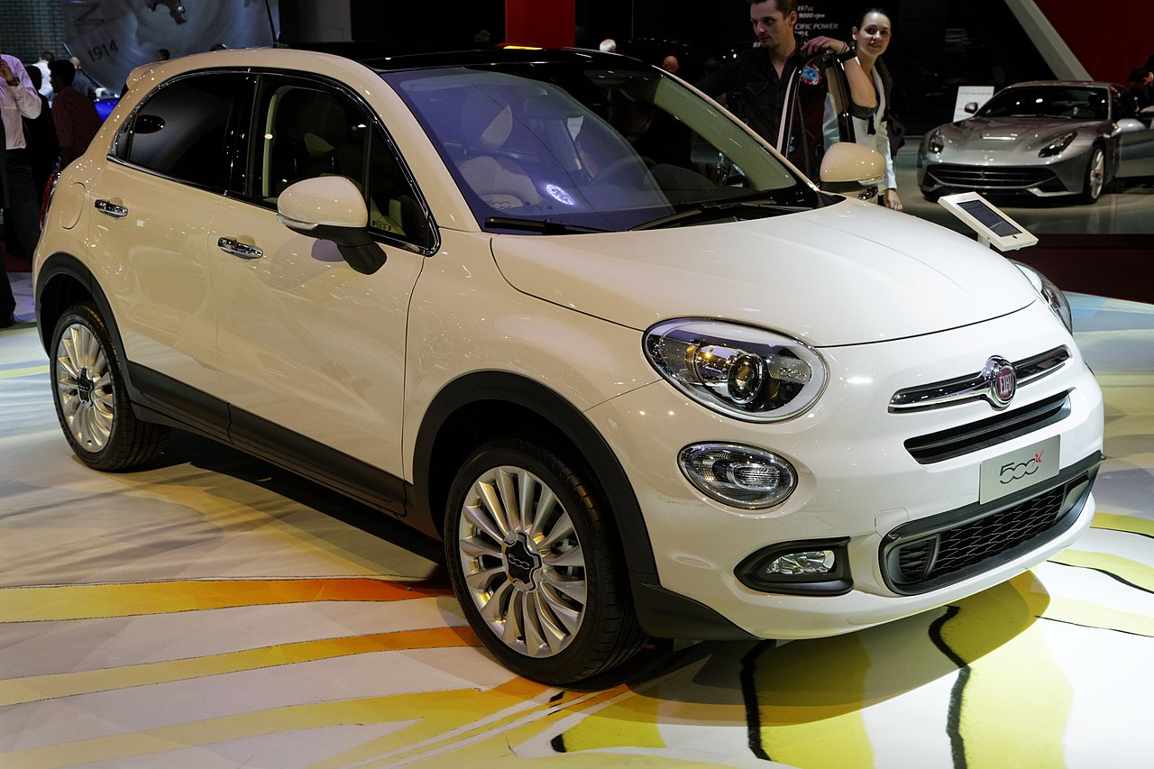 file mondial de l 39 automobile de paris 2014 fiat 500x wikimedia commons. Black Bedroom Furniture Sets. Home Design Ideas