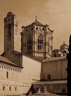 The monastery of Santa Maria de Poblet, Catalonia