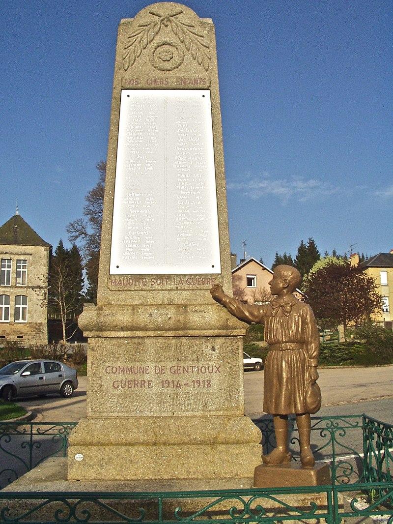 Monument aux morts Gentioux.JPG