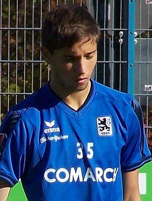 Moritz Leitner - Moritz Leitner playing for 1860 München.
