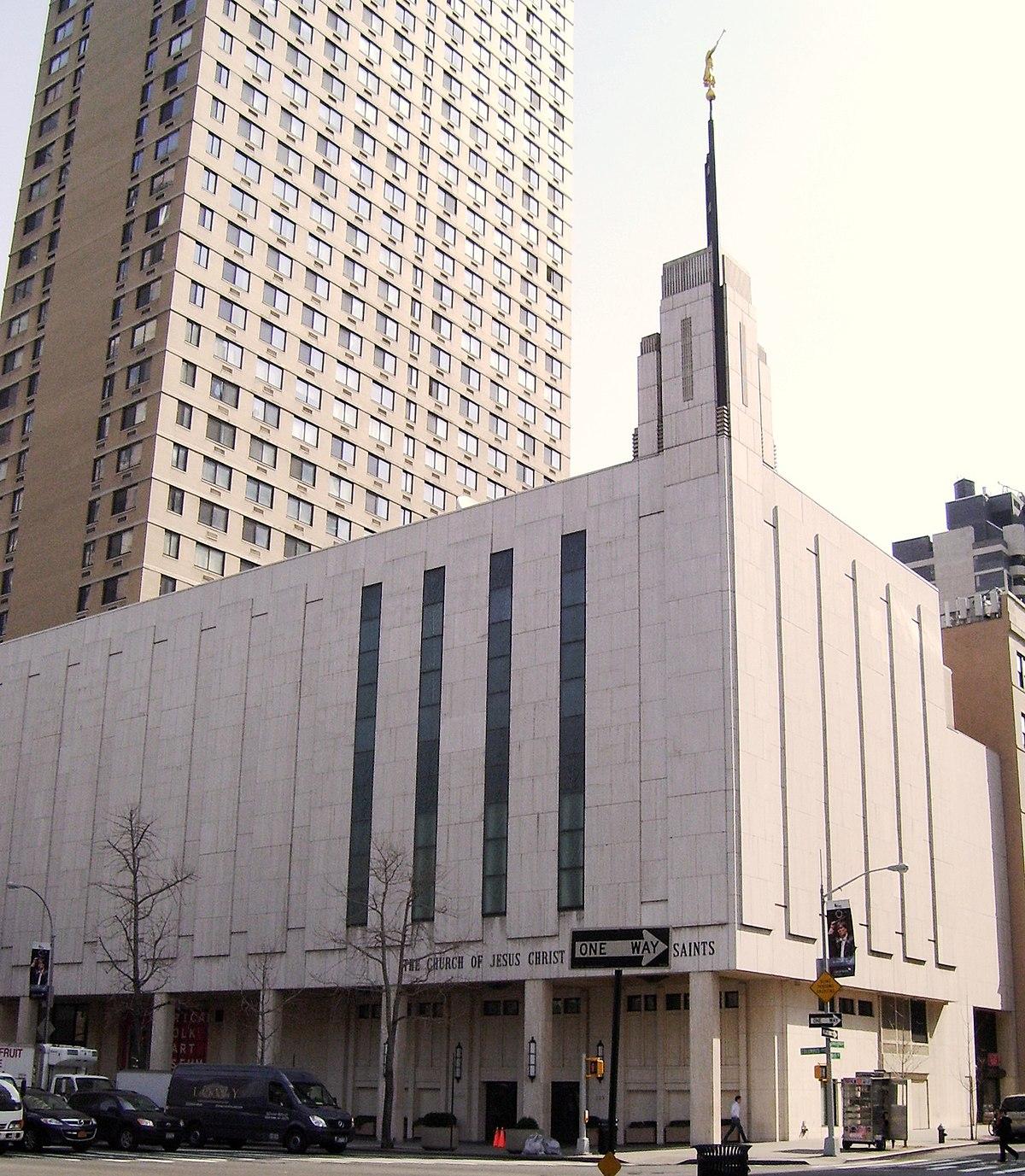 Manhattan New: Manhattan New York Temple