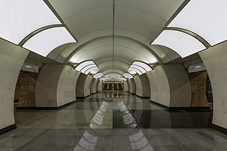 Butyrskaya (Moscow Metro) - Image: Mos Metro Butyrskaya 01 2017
