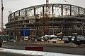 Moscow, Petrovsko-Razumovskaya Alley, construction of VTB Arena (30959476584).jpg
