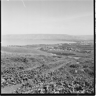Tarichaea - Moshava Kinneret during the British Mandate