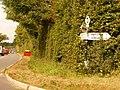 Motcombe, Motcombe Turnpike signpost - geograph.org.uk - 1508638.jpg