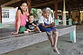 Mother with son and grandmother in Don Puay.jpg