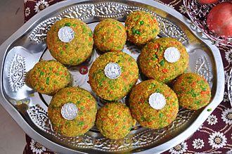 Bihari cuisine - Motichoor ka Ladoo