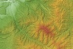 Mount Ena Relief Map, SRTM-1.jpg