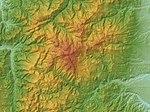Mount Yakeishi Relief Map, SRTM-1.jpg