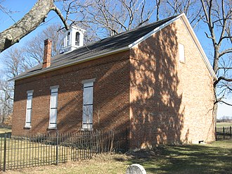 Union Township, Delaware County, Indiana - Mount Zion Methodist Church, a historic site in the township