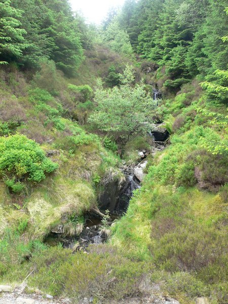 File:Mountain stream - geograph.org.uk - 458659.jpg