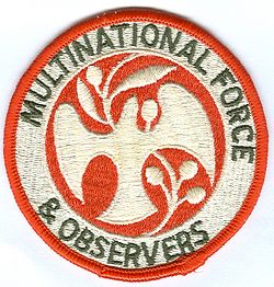 Mouwembleem Multinational Force and Observers.jpg