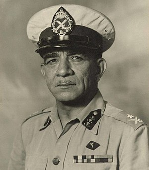 Operation Pleshet - Muhammad Naguib, the appointed Egyptian 2nd Brigade commander