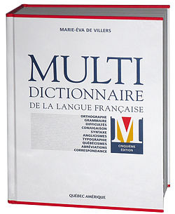 Image illustrative de l'article Multidictionnaire de la langue française
