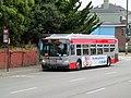 Muni route 29 bus at SFSU, July 2017.JPG