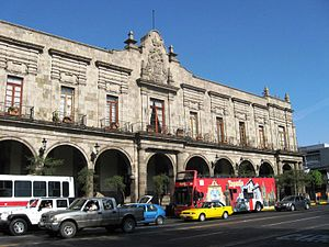 Universidad Autónoma de Guadalajara - Government Palace of Guadalajara