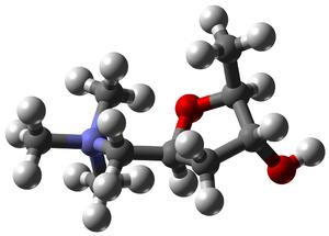 Muscarine - Image: Muscarine 3D balls